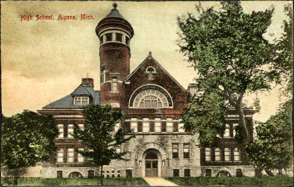 Alpena High School 1908