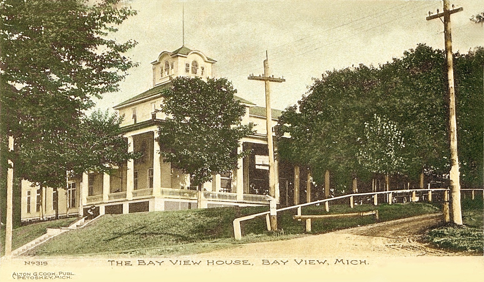 BAY VIEW MI BAY VIEW HOUSE HOTEL EARLY 1906