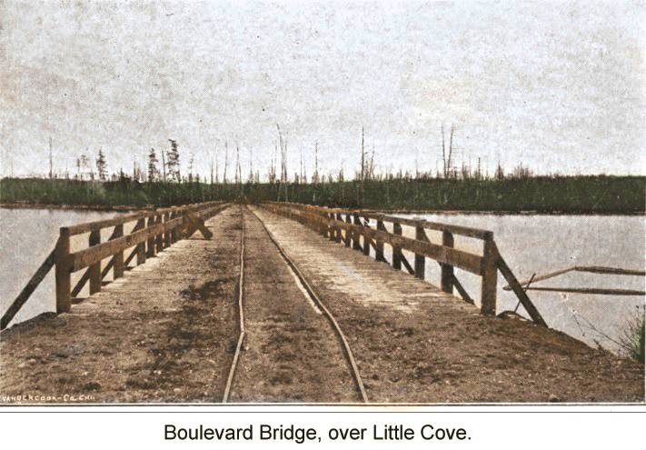Boulevard Bridge, over Little Cove