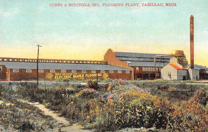 Cadillac Michigan Cobbs and Mitchell Inc. Flooring Plant