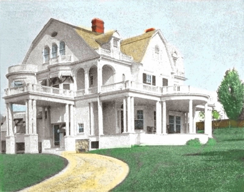 Cadillac Residence of P. J. Cobbs