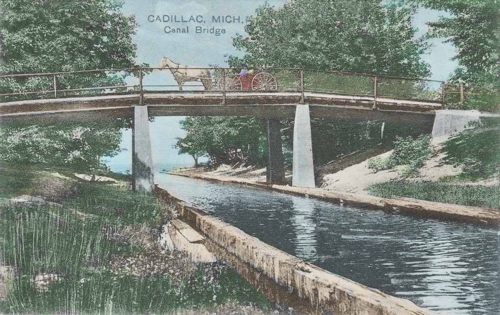 Canal Bridge-Cadillac, MI