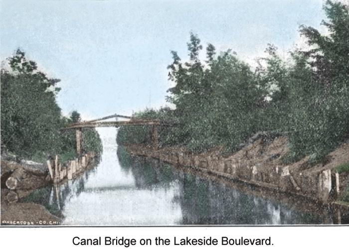 Canal Bridge on the Lakeside Boulevard.