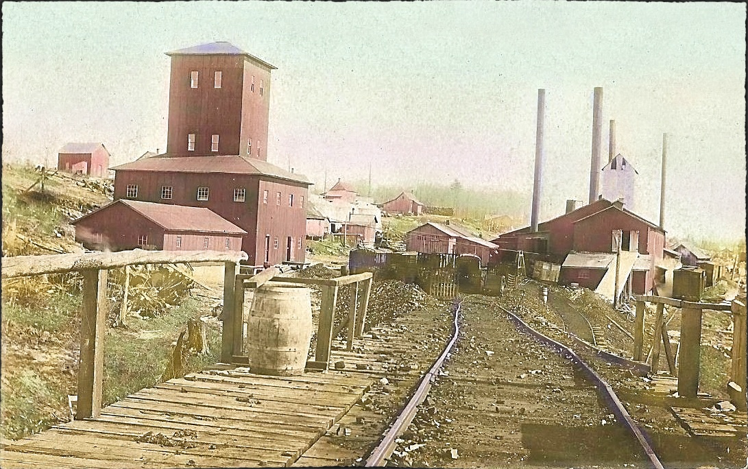 Carter Siding Michigan MICH (Benzie County) Desmond Chemical Co. 1909