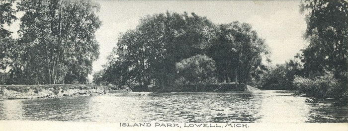 EARLY-VIEW-OF-ISLAND-PARK-AT-LOWELL-MI