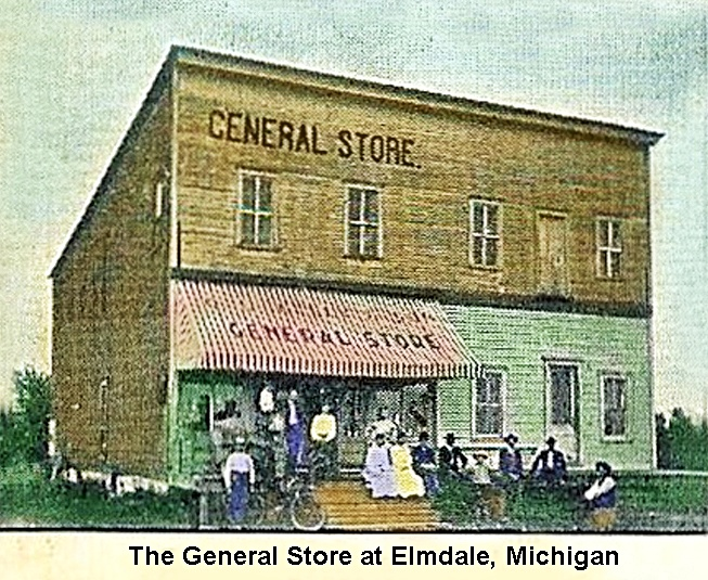 Elmdale, Michigan General Store 1907
