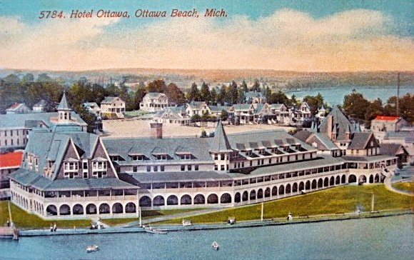 HOTEL OTTAWA OTTAWA BEACH MICHIGAN