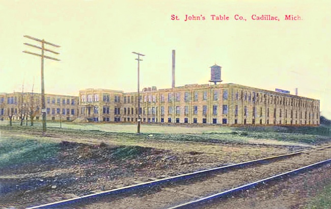 MI, Cadillac, Michigan, Saint John's Table Company
