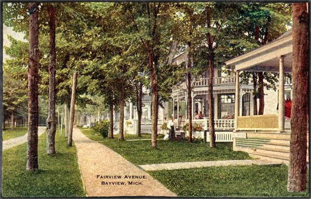 Fairview Avenue View, Bayview Michigan