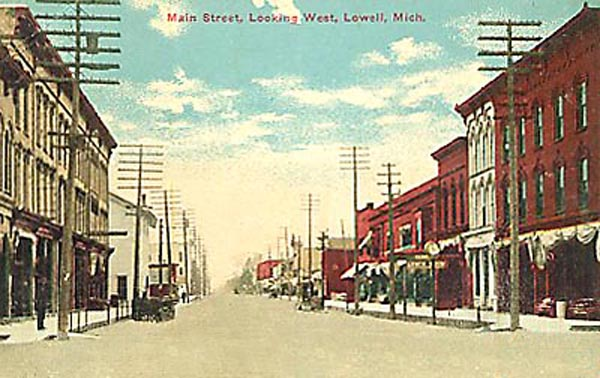 Main Street Lowell Michigan